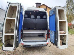 Навесной багажник на Мерседес