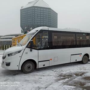 Микроавтобус Ивеко в аренду 36 мест