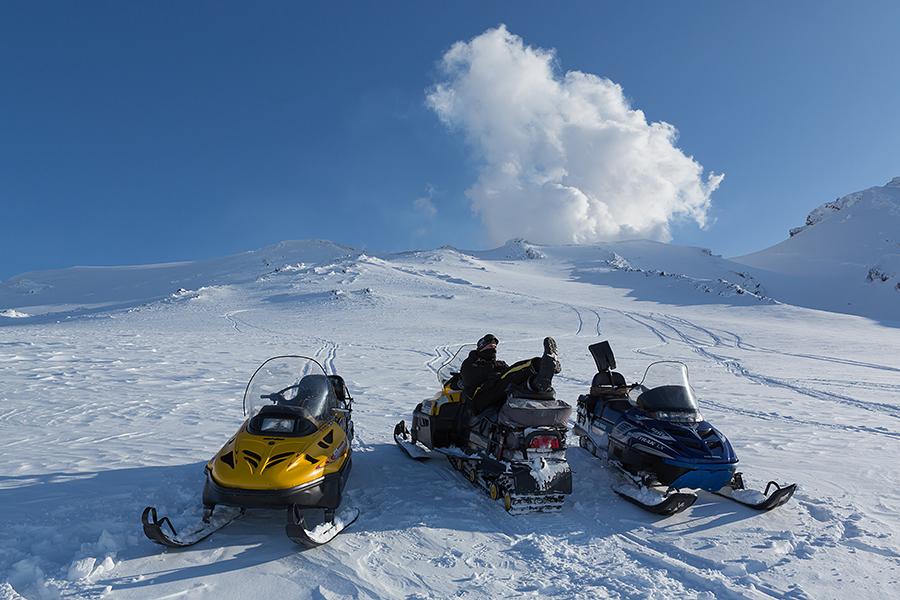 Снегоходы Карпаты