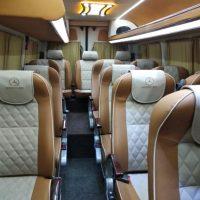 Салон арендаваного микроавтобуса